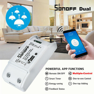 SONOFF Smart Home WiFi Wireless Switch Module Monitor For IOS Android APP Ctrl S