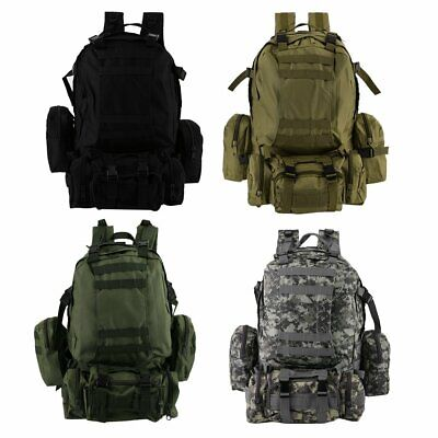 da8ba415fcc7 50L Molle 3 Day Assault Tactical Outdoor Military Rucksacks Backpack  Camping bag