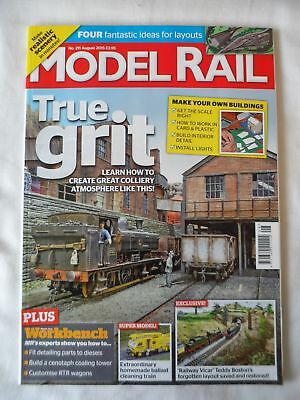 Model Rail - August 2015 - Make your own buildings
