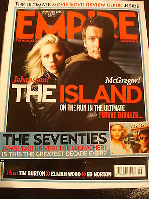 Empire Magazine film Issue 195 Sep 2005 Scarlett Johansson