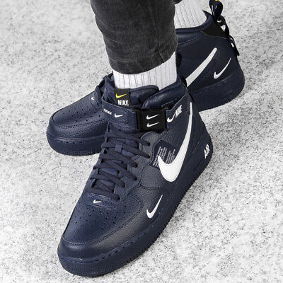 magasin en ligne 92a47 66132 NIKE AIR FORCE 1 MID '07 LV8 chaussures hommes mi-hautes sneaker 804609-605