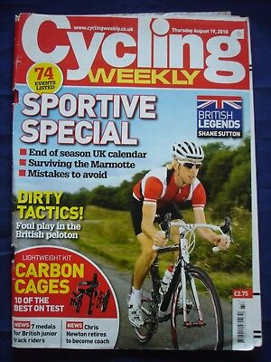 Cycling Weekly  - 19 August 2010 - Sportive special