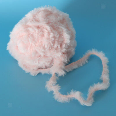 32M SOFT FUR Yarn Fluffy Faux Fur Yarn Eyelash Yarn for Crochet Knit