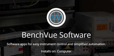 Keysight BV0013B BenchVue Current Analyzer Control and Automation App