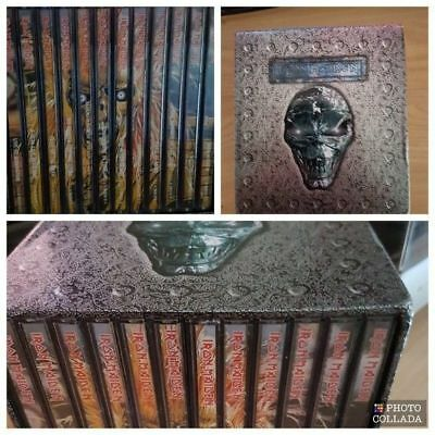Iron Maiden 12 Albums Collection 15 Cd Box Set. New Sealed.  Nuevo.