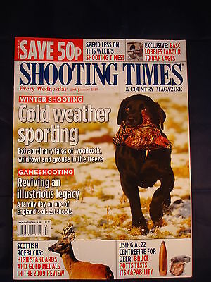 Shooting Times - 20th January 2010 - .22 Centrefire