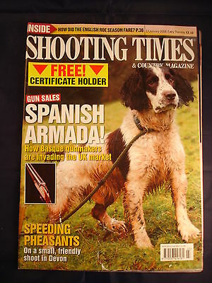 Shooting Times - 17th January 2008 - Pheasants in Devon