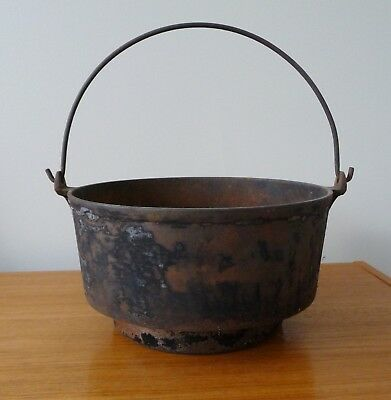 Antique Cast Iron Pot for Old Wood Stoves