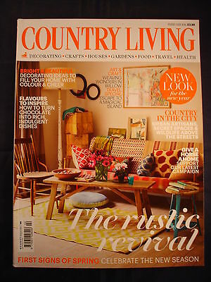 Country Living Magazine - February 2014 - The rustic revival - Country in city