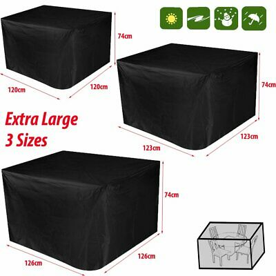 Garden Patio Furniture Set Cover Waterproof Covers Rattan Table Cube Outdoor