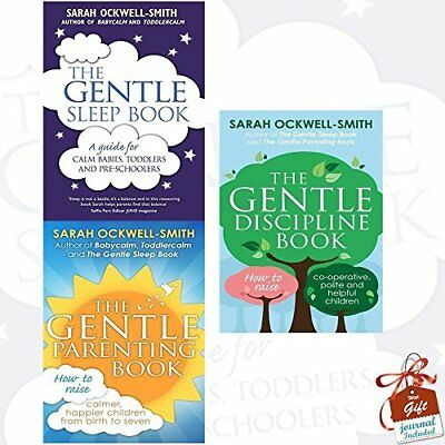 Sarah Ockwell-Smith Collection 3 Books Bundle With Gift Journal ( **brand New**