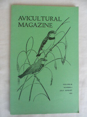 Avicultural Magazine - July / August 1974