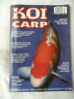 Koi Carp Magazine - July 1997