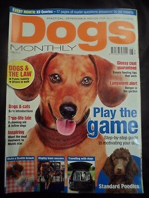 Dogs Monthly Magazine - June 2014 - Poodles - Motivation guide