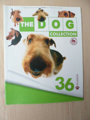 Dog collection - Eaglemoss part work # 36 - Airedale
