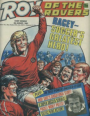 Roy of the Rovers - Comic - 8 August 1987