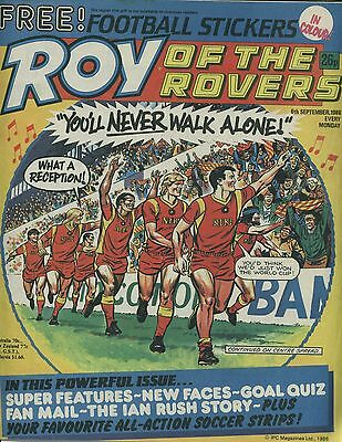 Roy of the Rovers - Comic - 6th September 1986