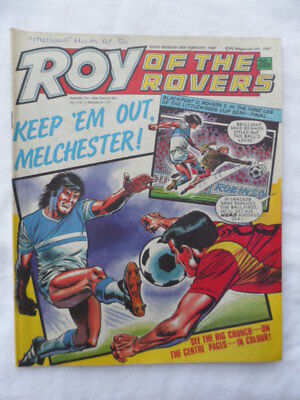Roy of the Rovers football comic - 28 February 1987 - Birthday gift?