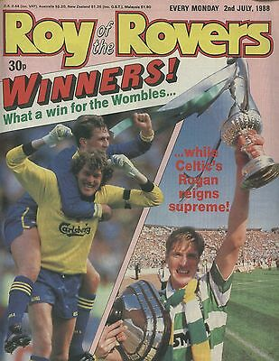 Roy of the Rovers - Comic - 2 July 1988
