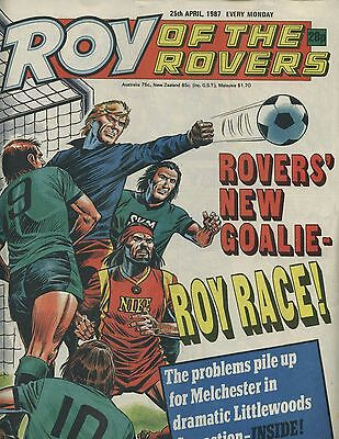 Roy of the Rovers - Comic - 25 April 1987