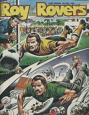 Roy of the Rovers - Comic - 9 July 1988