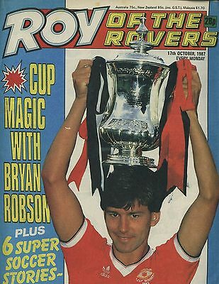 Roy of the Rovers - Comic - 17 October 1987