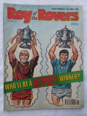 Roy of the Rovers football comic - 12 May 1990 - Birthday gift?