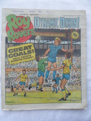 Roy of the Rovers football comic - 21 June 1986 -  Birthday gift?