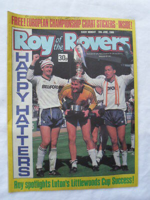 Roy of the Rovers football comic - 18 June 1988 - Birthday gift?