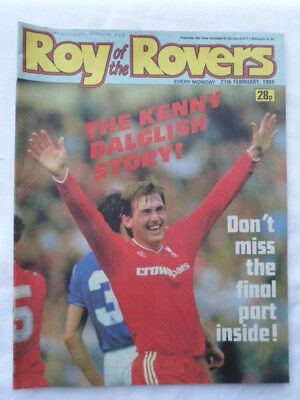 Roy of the Rovers football comic - 27 February 1988 - Birthday gift?