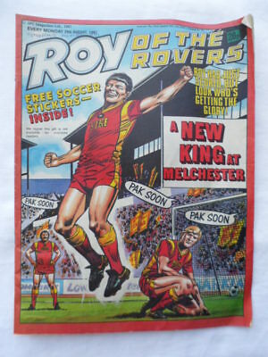 Roy of the Rovers football comic - 29 August 1987 - Birthday gift?