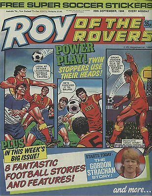 Roy of the Rovers - Comic - 20th September 1986
