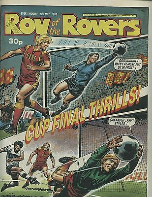 Roy of the Rovers - Comic - 21 May 1988