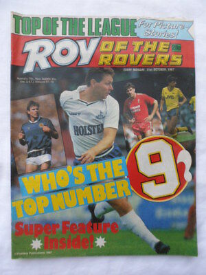 Roy of the Rovers football comic - 31 October 1987 - Birthday gift?