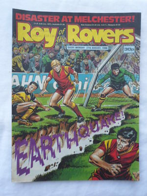 Roy of the Rovers football comic - 27 August 1988 - Birthday gift?