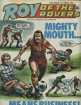 Roy of the Rovers - Comic - 16 January 1988