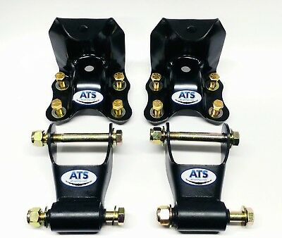 ATS Springs Ford Ranger Rear Hanger and Shackle Kit (Replaces 722-001, 722-010)