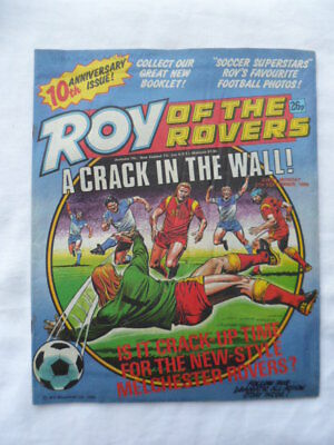 Roy of the Rovers football comic - 27 September 1986 -  Birthday gift?