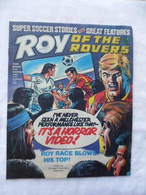 Roy of the Rovers football comic - 22 November 1986 -  Birthday gift?