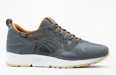 Details about ASICS GEL LYTE V NS G TX MENS SHOES TRAINERS GORE TEX WATERPROOF BLACK GREY NEW!