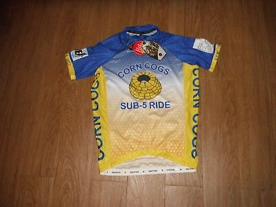 NEW! PACTIMO MEN S Team 19 Jacquard Short Sleeve Cycling Jersey Size ... 219a5ce38