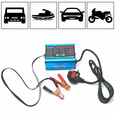 Car Van Motorbike Compact Smart Battery Charger FAST 6V 12V 2A 6A 10A Automatic