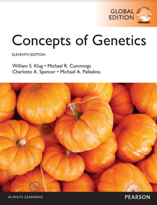 Concepts of Genetics 11th Edition by William S. Klug [PDF] fast(30s) 📥