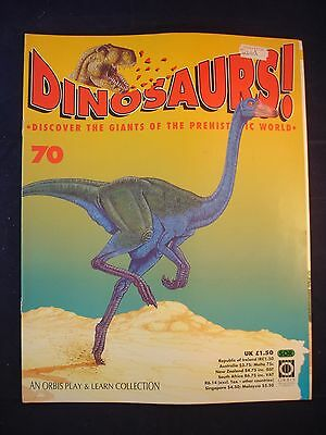DINOSAURS MAGAZINE - ORBIS  - Play and Learn - Issue 70 - Uintatherium