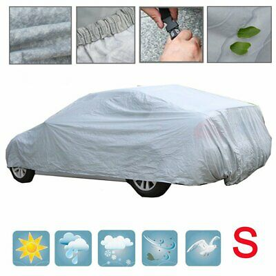 Heavy Duty Small Size S Breathable Full Car Cover UV Protection Outdoor Indoor