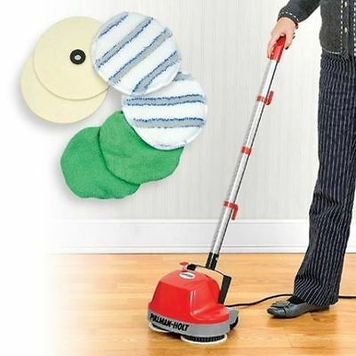 Floor Cleaning Machine Cleaner Buffer Scrubber Polishes-Cleans Most Surfaces