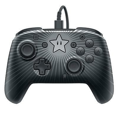 Faceoff Wired Pro Controller - Super Mario Star Edition (Nintendo Switch) (New)