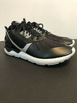 the latest f1552 8069a Adidas Mens Tubular Runner Black White Size 11 B25525 Leather
