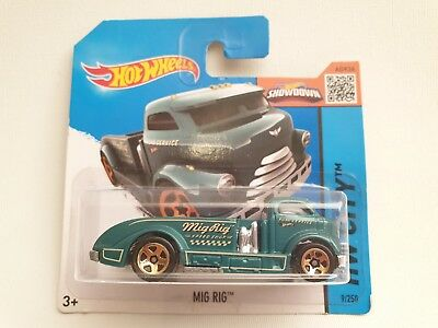 YRTS Hot Wheels MIG RIG Scale 1:64 Metal ¡New!