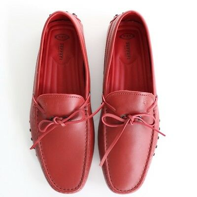 33b145c892dd1 TOD'S FERRARI MEN'S Gommino Driving Shoes in Red Size 8.5 - $290.00 ...